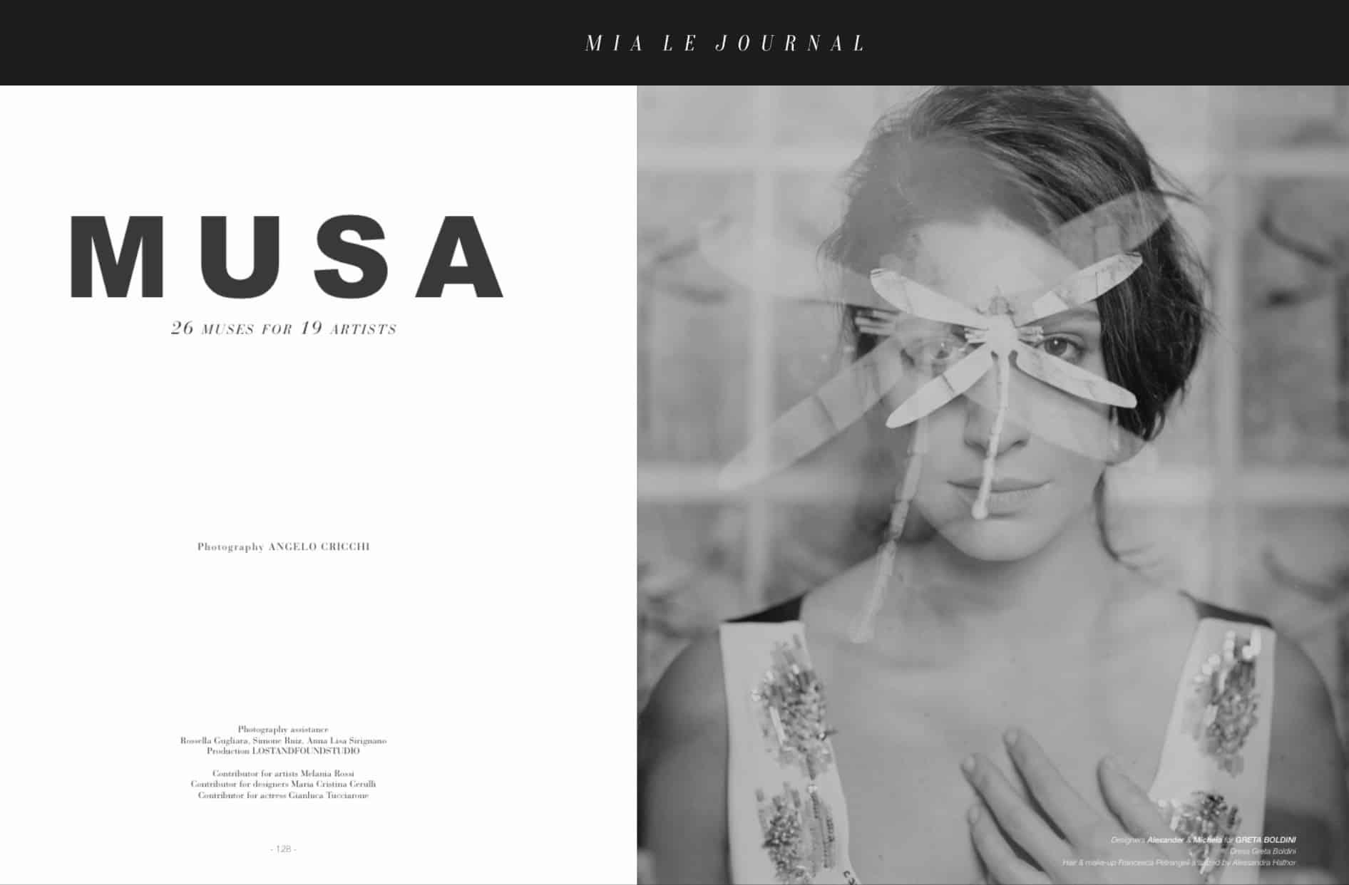 Mia Le Journal cover - Melania Dalla Costa