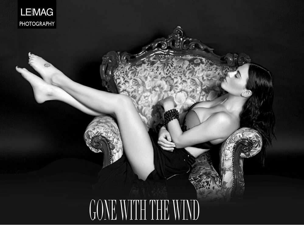 Melania Dalla Costa, attrice, per Le Grand Mag