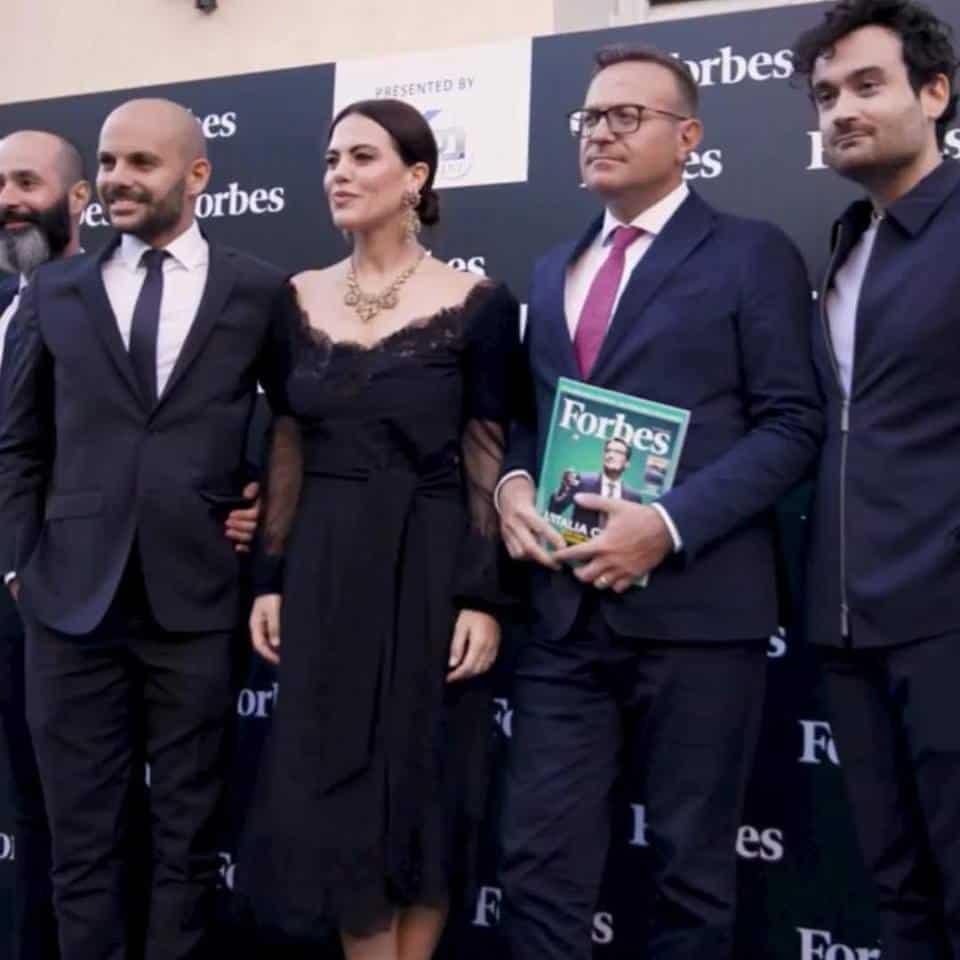 Melania Dalla Costa Forbes Italia foto di gruppo