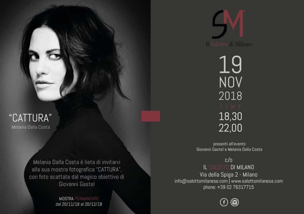 Evento mostra Gastel Melania Dalla Costa