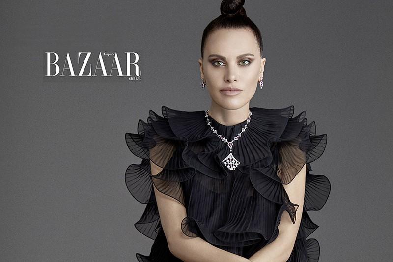 Melania Dalla Costa per Harper's Bazaar cover gallery