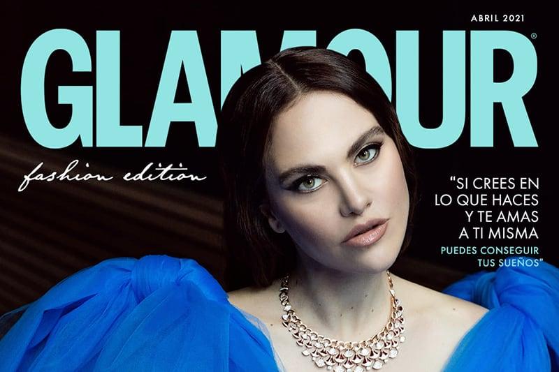 Melania Dalla Costa copertina gallery Glamour Messico e America Latina